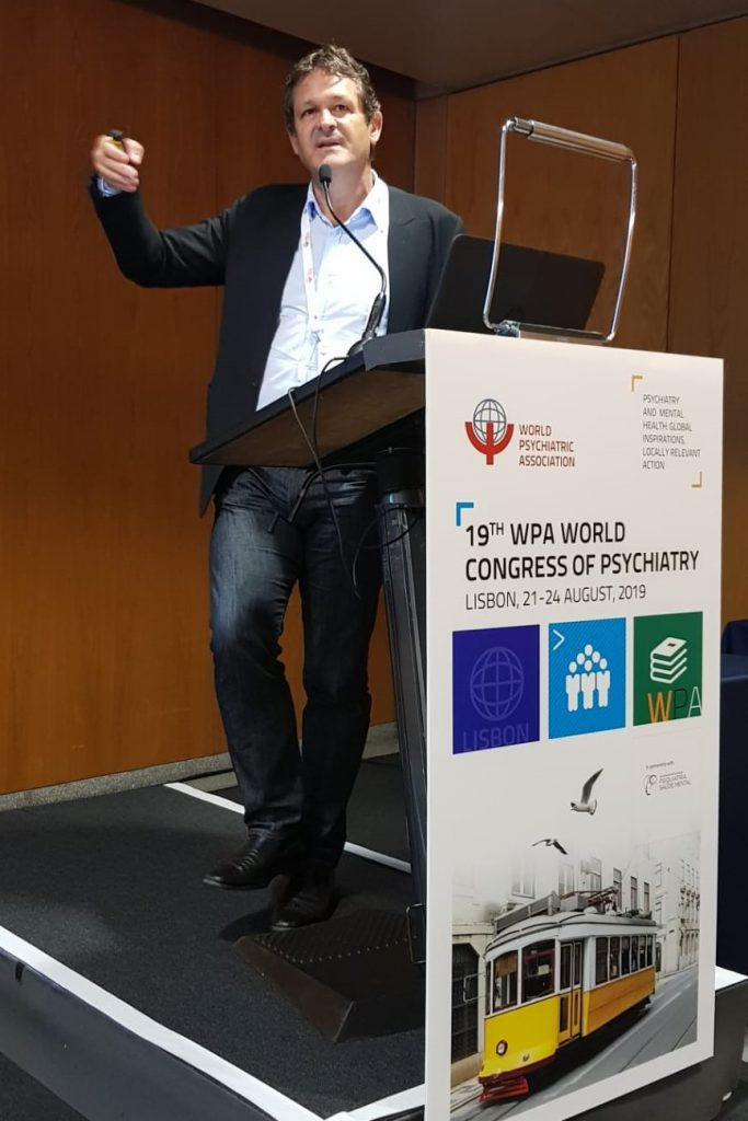 Dr. Paul Koeck @19th World Congress of Psychiatry